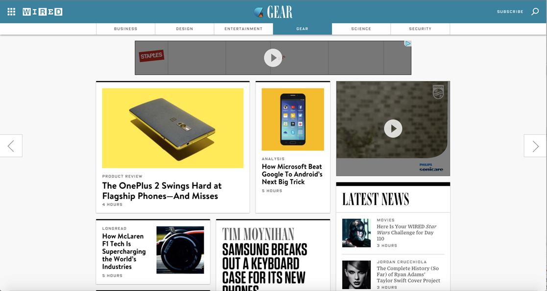 screenshot blokirani flash reklami