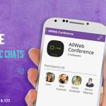 Конференцијата AllWeb со свој јавен чет на Viber