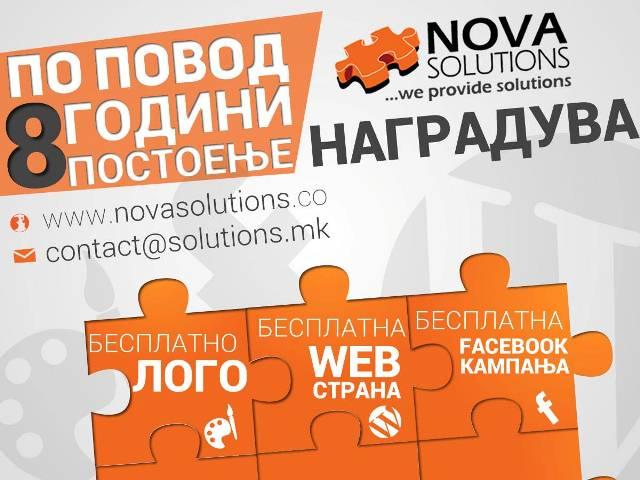 nova solutions akcija