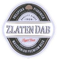 zlaten dab logo