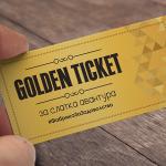 Кампања на А.Д. Европа: Golden Ticket за слатка авантура