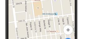 Google ги комерцијализира Google Maps преку промовирани 'иглички' и пребарувања
