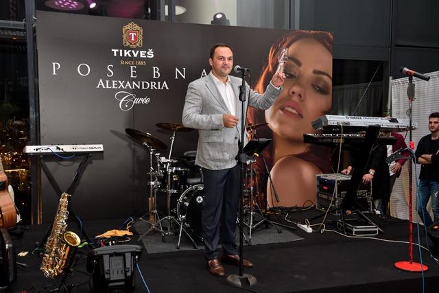Игор Илиевски, генерален директор на винаријата Тиквеш