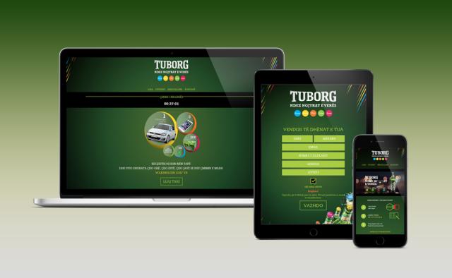 Tuborg lutrija - aplikacija