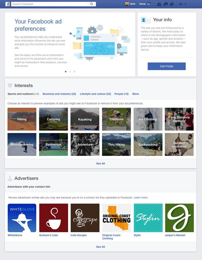 facebook ad preferences 2016 1