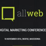 Најавено петтото издание на конференцијата за дигитален маркетинг – AllWeb