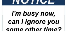 """Ова е тоа што го мислите кога кажувате : """"зафатен(а) сум"""""""