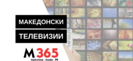 Петте најголеми телевизии во 2016-та оствариле приход од речиси 18 милиони евра