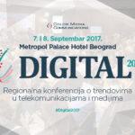 """Регионалната конференција """"Digital 2017"""" на 7-ми и 8-ми септември во Белград"""