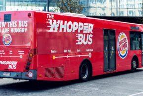 Burger King отвори сопствена автобуска линија во Брисел која бесплатно ги возеше луѓето до ресторанот