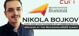 Интервју со Никола Бојков, ко-основач и извршен директор на EmbedSocial и еден од говорниците на Самитот Македонија2025