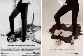 Како изгледаат сексистичките реклами кога улогите се заменети