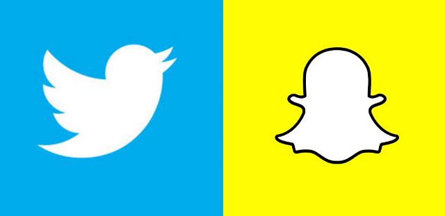 Твитер и Снепчет се борат за внимание од медиските издавачи