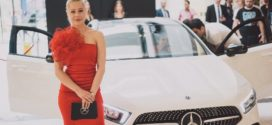 Ексклузивно: Викторија Лоба зборува со автомобил, со новата Mercedes-Benz А-Класа